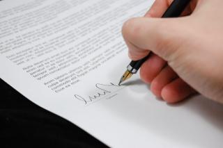 Signing doc