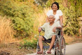 Sr man wheelchair